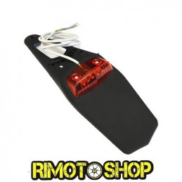 Porta targa OJC led nero ENDURO MOTARD-PTTGLED-OJC
