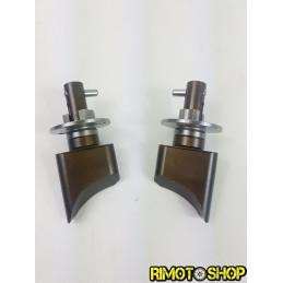 Coppia valvole di scarico YAMAHA YZ125 05-16-RMT-K03-Rimotoshop