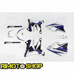 décalcomanies noires restyling  YAMAHA YZ 125 02-14