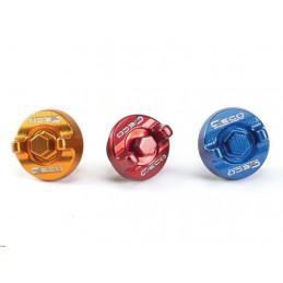 Tappo carico olio KAWASAKI KXF 450 04-17 Rosso-500.020.004-Geco
