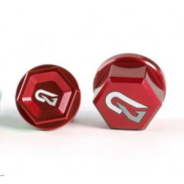 Coppia dadi perni ruota Geco BETA RR 250 11-17 Rosso-750.005.004-RiMotoShop