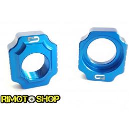 Registri tendi catena Geco SHERCO SEF R 450 12-17 Blu-700.010.002-RiMotoShop