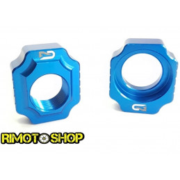 Registri tendi catena Geco SHERCO SE R 250 12-17 Blu-700.010.002-RiMotoShop