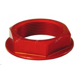 Dado piastra di sterzo Honda CR 85 03-07 rosso