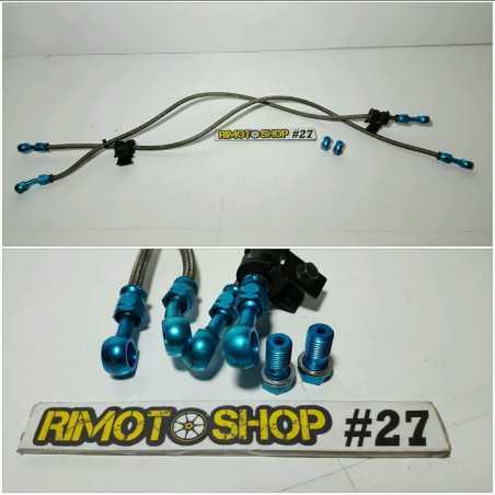 Logitech Yamaha R6 03 04 Front brake hoses