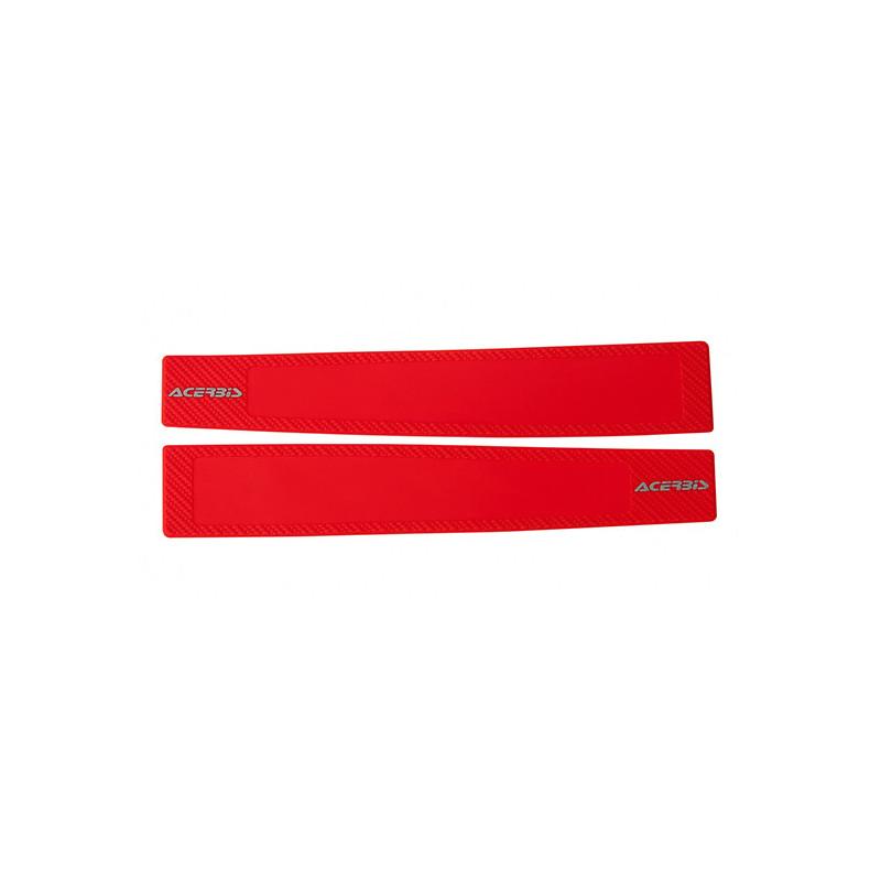 Gomma Protezioni Forcellone Honda Crf 450 R 2002 2018 Colore Rosso