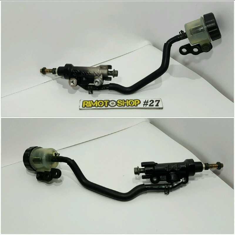 04 07 YAMAHA FZ6 pompa freno posteriore-AL2-3428.4O-Yamaha