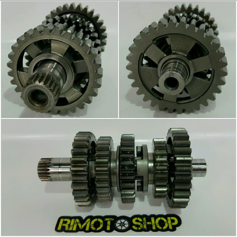 04 09 HONDA CRF 250R cambio marce gearbox-AL7-5556.6V-Honda
