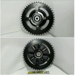 11 16 KTM DUKE 125 portacorona & corona-AL7-5058.5M-KTM